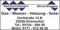 Bad-Einrichtungen Bernd Wriggers